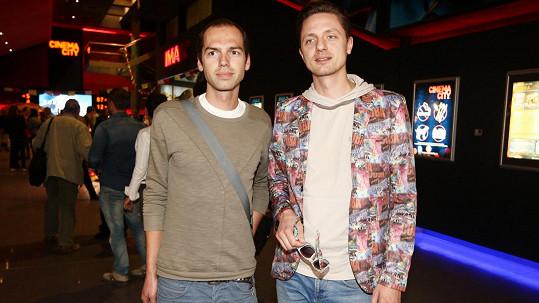Ondřej Ruml s mladším bráchou (vlevo)