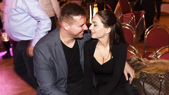 Míša Kuklová s přítelem Jiřím Kášem