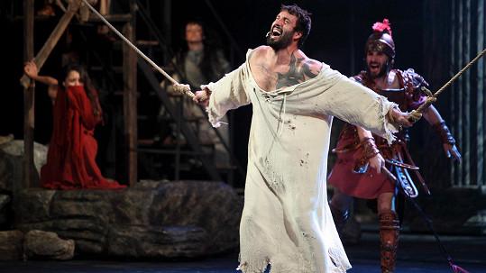 Vašek Noid Bárta jako Ježíš v legendárním muzikálu