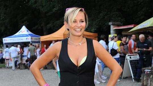 Monika Absolonová byla pořádně sexy.