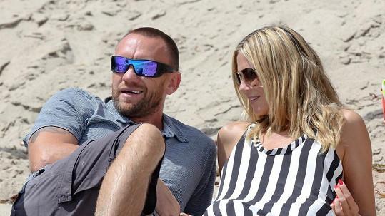 Heidi a její mužný partner.