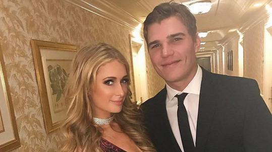Paris Hilton s novým partnerem Chrisem Zylkou