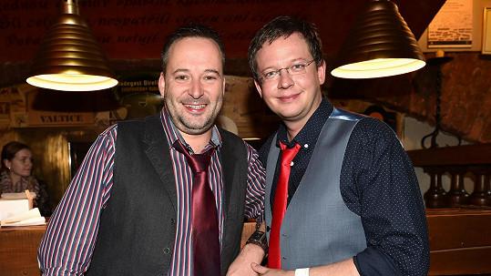 Michal Jagelka a Aleš Cibulka