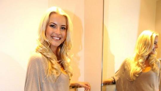 Jitka Nováčková - Česká Miss 2011.