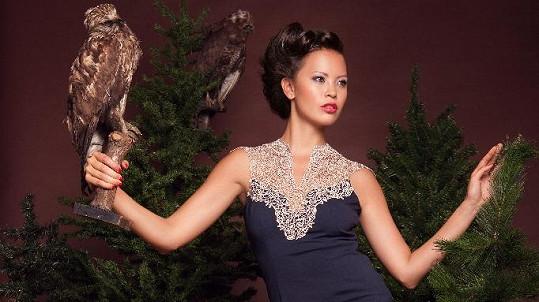 Monika Leová se stala tváří vlasové kolekce.