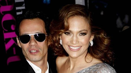 Jennifer Lopez s Marcem Anthonym.