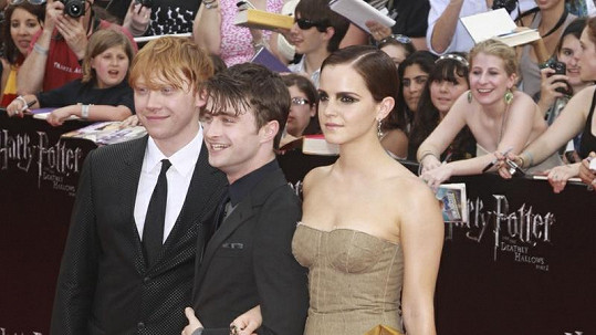 Herci na newyorské premiéře Harryho Pottera a Relikvie smrti - část 2.