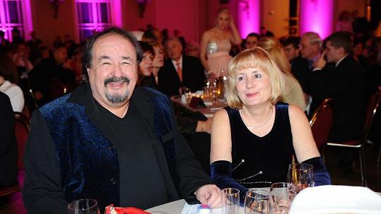Petr Novotný s manželkou Mirkou