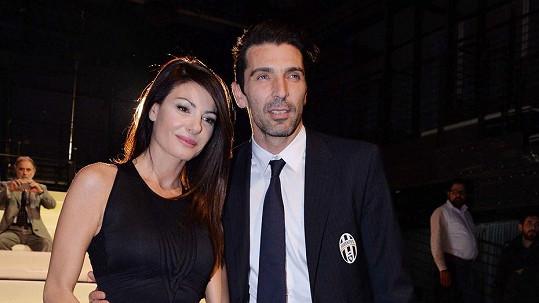 Gigi Buffon a Ilaria D´Amico tvoří už nějaký ten pátek pár.