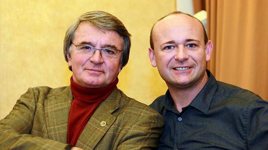 Vlastimil Harapes (vlevo)