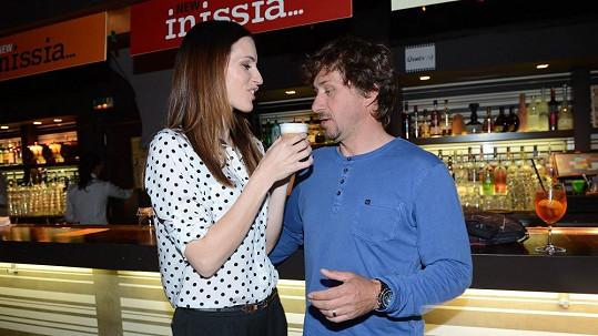 Lucie Křížková s manželem
