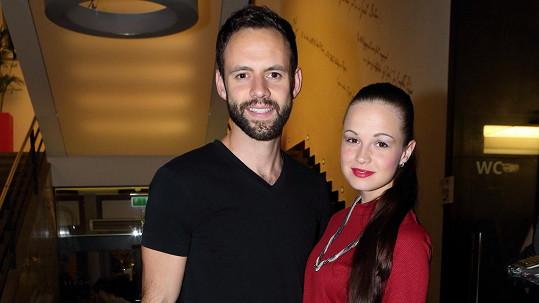 Michael Foret s manželkou Eliškou