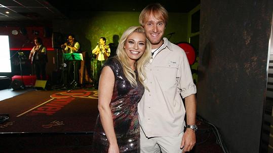 Lucie Borhyová s Jakubem Vágnerem
