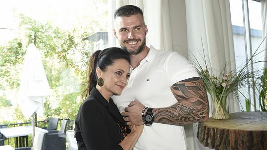 Lucie Bílá a Radek Filipi tvoří krásný pár.