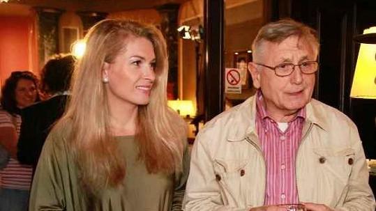 Jiří a Olga Menzelovi