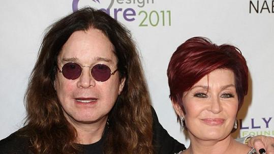 Sharon Osbourne s manželem Ozzym.