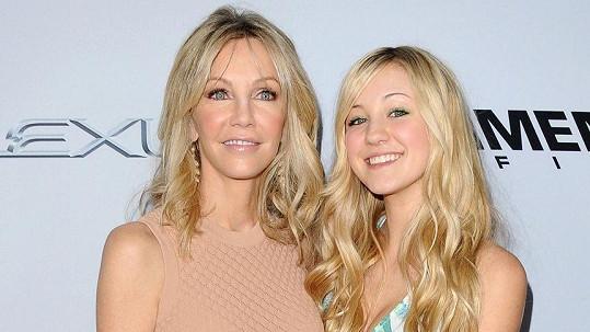 Ava Sambora s matkou Heather