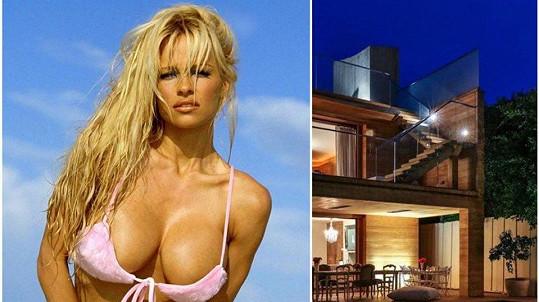 Pamela Anderson pronajímá bejvák v Malibu.