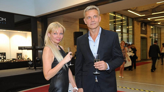 Martin Maxa s manažerkou Zitou