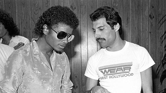 K duetu Michaela Jacksona a Freddieho Mercuryho nakonec nedošlo.