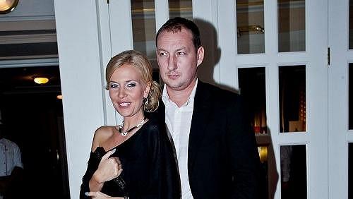 Míša Ochotská s expřítelem Michalem Exnerem.