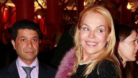 Dagmar Havlová a Fawad Nadri na premiéře Fantoma opery.