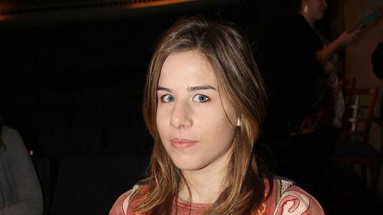 Ester Ledecká, dcera zpěváka Janka Ledeckého.