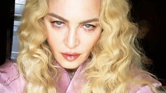 Na Madonnu dolehla únava.