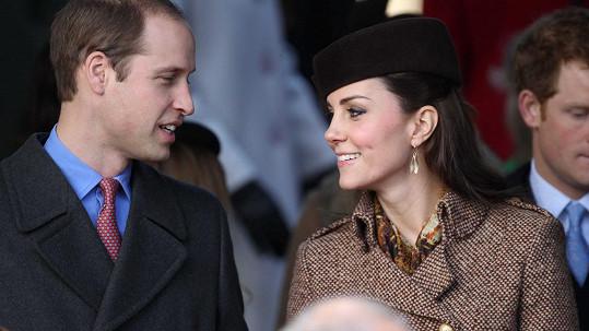 William a Catherine se dočkají druhého potomka na přelomu března a dubna.