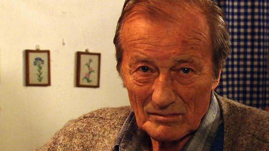 Radoslav Brzobohatý na poslední známé fotce z jeho života.
