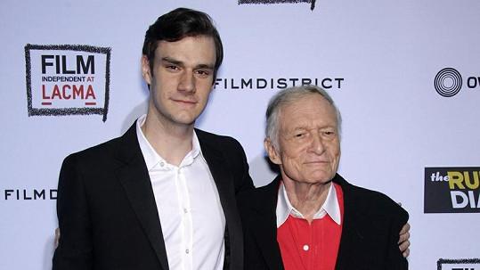 Hugh Hefner teď jistě není na svého syna Marstona pyšný.