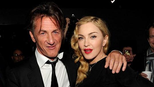 Sean Penn udržuje s Madonnou po rozvodu přátelský vztah.