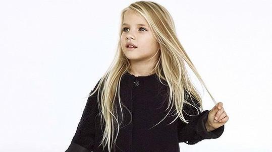 Dcera zpěvačky Victorie Anabelle