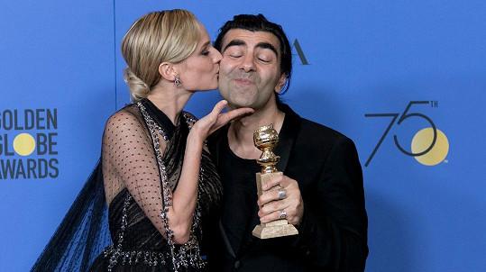 Diane Kruger s režisérem Fatihem Akinem