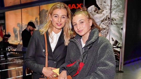Herečka se svou dcerou Sofií
