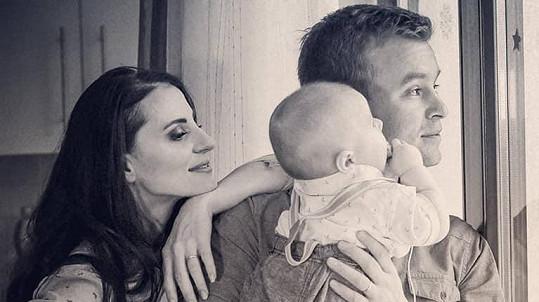 Markéta Procházková se svou rodinou