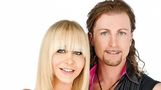 Dolly Buster a její tanečník Gerhard Egger.