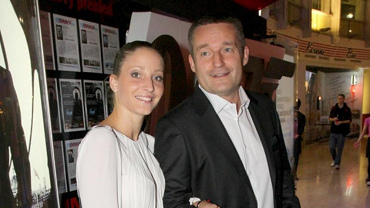 Vladimír Hron s druhou manželkou Michaelou