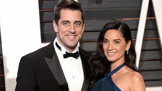 Olivia Munn a Aaron Rodgers