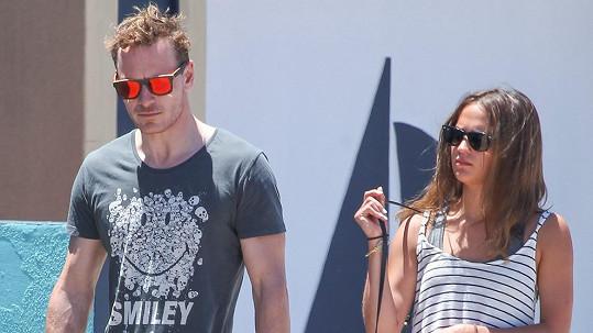 Michael a Alicia na společné fotce ze Sydney