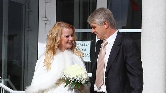 Novomanželku Ivetu už Pepa stihl pořádně naštvat.