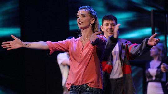 Herečka na Silvestra přebíhala z jednoho představení na druhé.