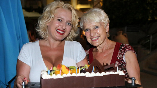 Miluška Bittnerová s maminkou