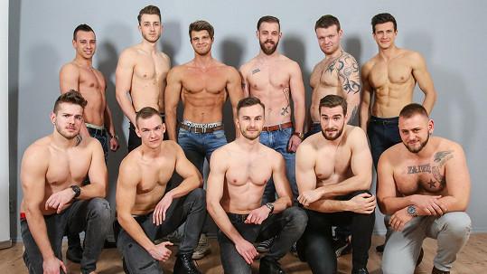 O víkendu proběhl další casting na příští ročník soutěže Muž roku.