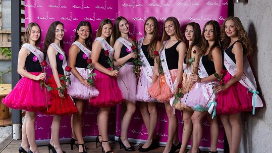 Finalistky Dívky roku 2020