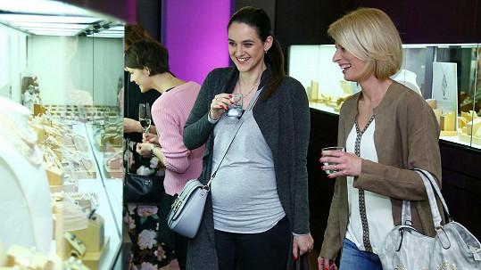 Libuška neprožívala zrovna pohodový začátek těhotenství.
