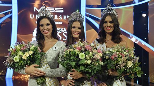 Vítězky Česko-Slovenské Miss, České Miss a Miss Universe Slovensko