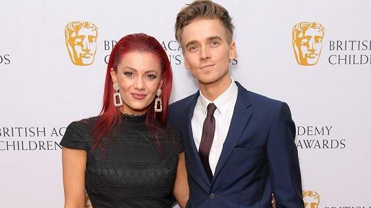 Youtuber Joe Sugg a jeho tanečnice Dianne Buswell
