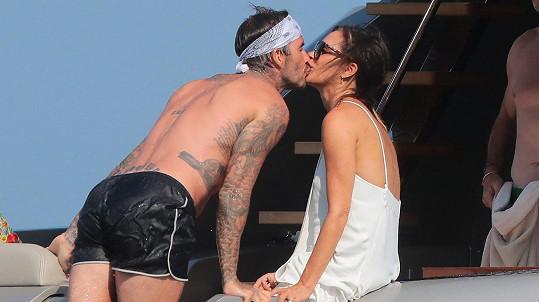 David Beckham s manželkou Victorií