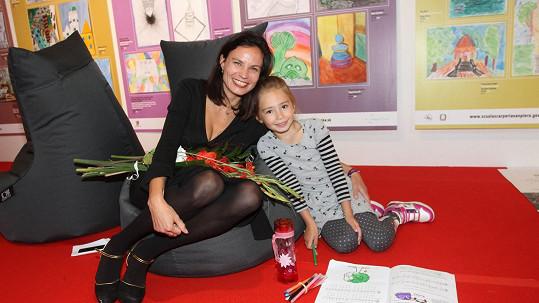 Eliška Kaplicky s dcerou Johankou